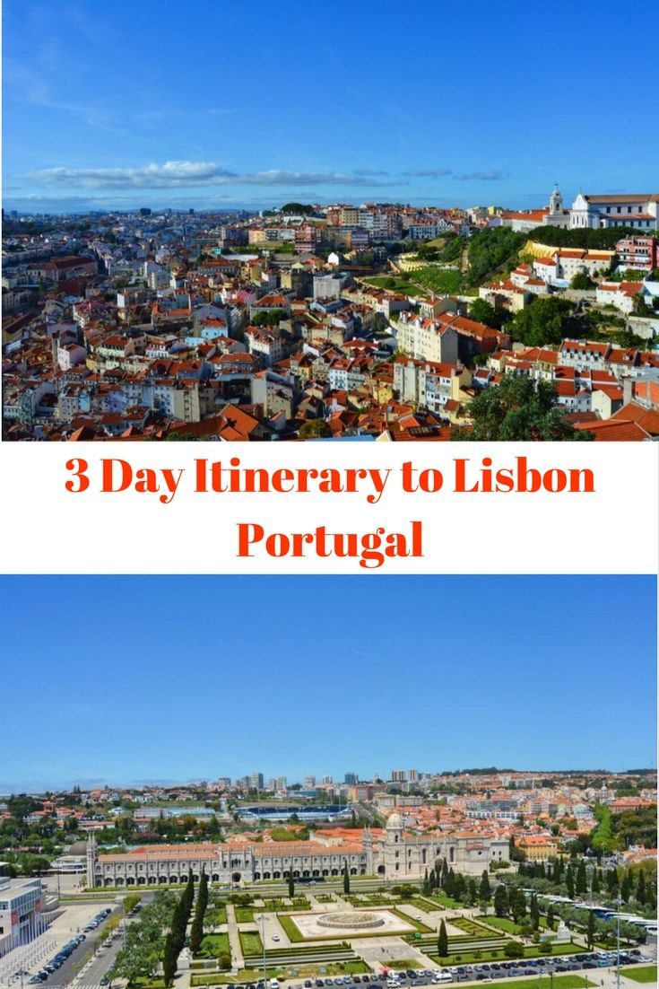 Exploring A Charming City: 3 Day Itinerary to Lisbon Portugal