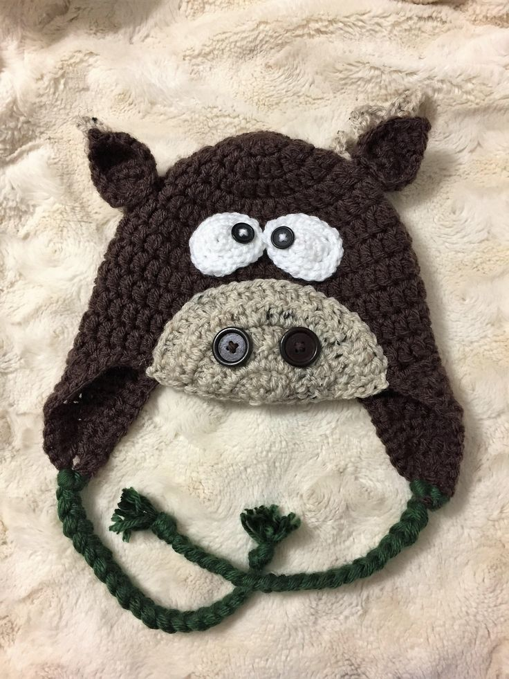 A personal favorite from my Etsy shop https://www.etsy.com/ca/listing/519297996/moose-winter-baby-hat-animal-boy