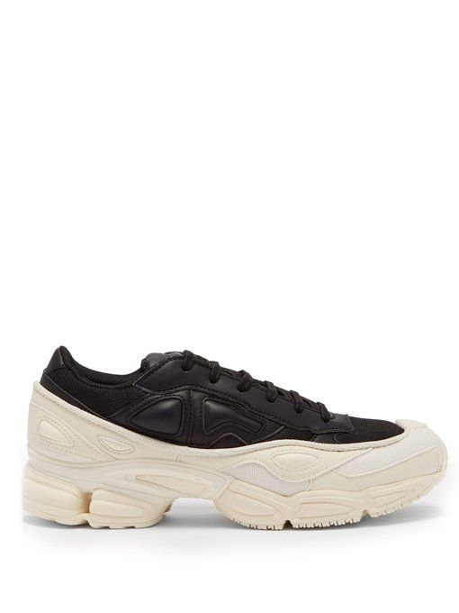 on sale 3a4d5 4f43b ADIDAS BY RAF SIMONS RAF SIMONS X ADIDAS - RS OZWEEGO TRAINERS - MENS -  BLACK WHITE. adidasbyrafsimons shoes