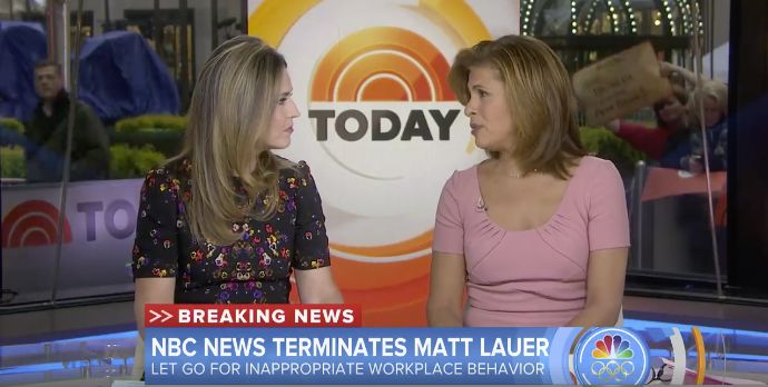 New top story from Time: Billy PerrigoWe Are Heartbroken. Read Savannah Guthrie and Hoda Hotbs Response to Matt Lauers Firing http://time.com/5040635/savannah-guthrie-hoda-kotb-matt-lauer-statement-transcript/| Visit http://www.omnipopmag.com/main For More!!! #Omnipop #Omnipopmag