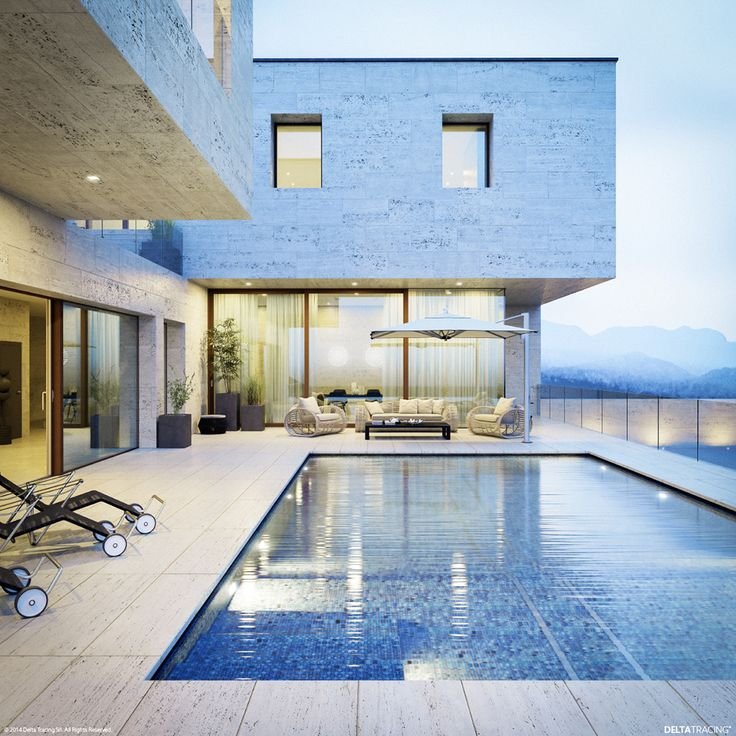 This Image Of A Swimming Pool Makes Us Want To Dive Right In But In Fact It 39 S A Photo Realistic