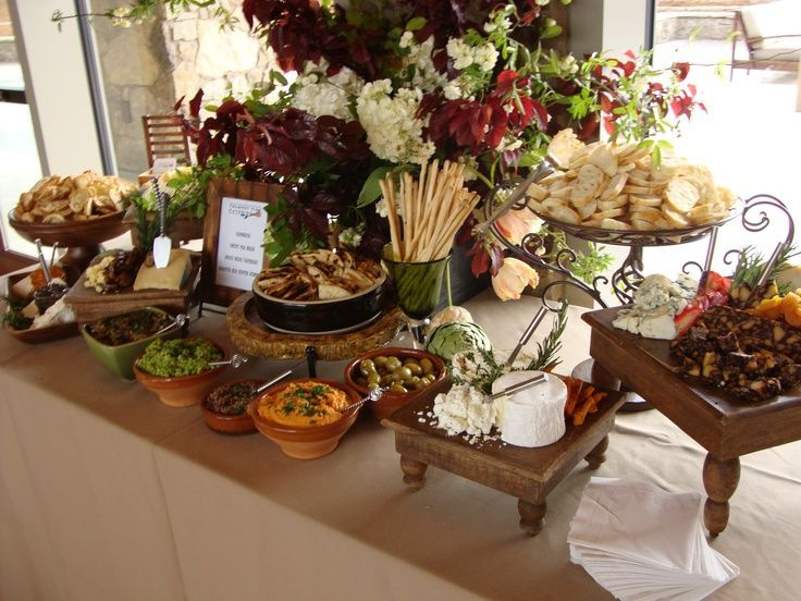 Hors Du0027oeuvres Table Scape | Hot Appetizers Hors D Oeuvres | Cheese Table |