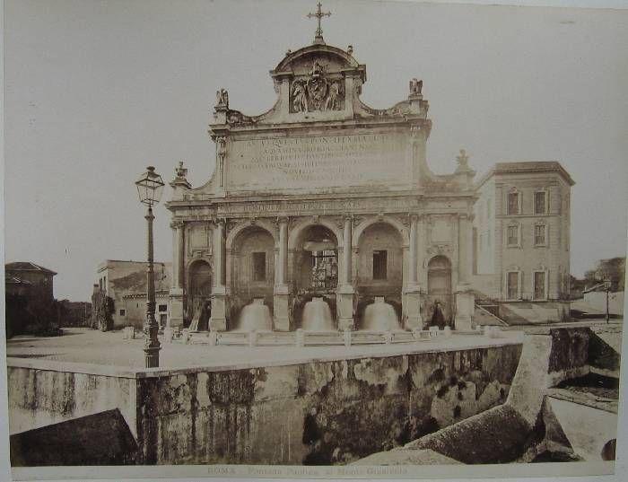 Fontana Paolina al Monte Gianicolo