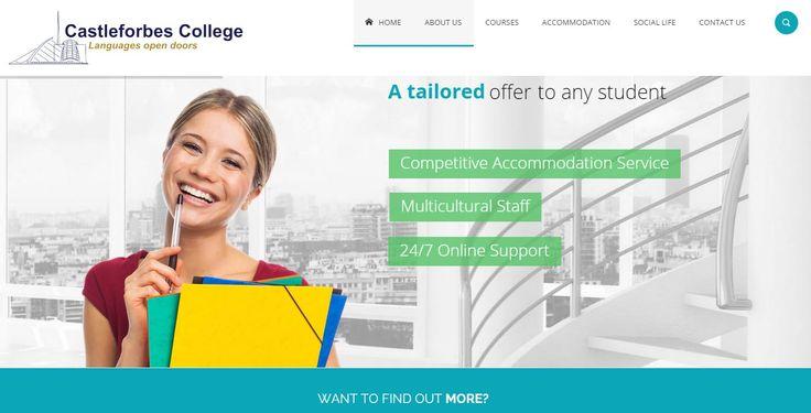 Web Design for Castleforbes College