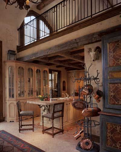 Spanish Kitchen Designed By Nancy Anderson Ross, Dallas Design Group  Interiors, In Colorado.