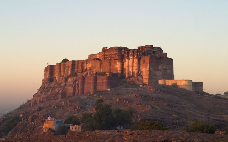 Mehrangarh Festival Fort (where the RIFF festival takes place