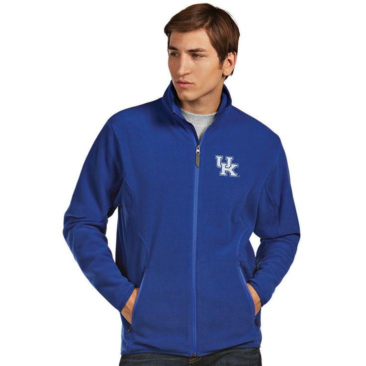 Kentucky Wildcats Antigua Ice Full-Zip Jacket - Royal
