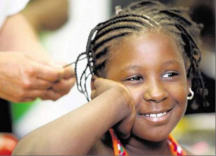 17 Best Images About Braided Hairstyles For Black Girls On