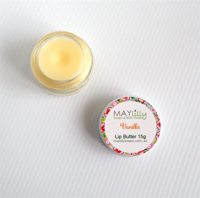 Luscious Lip Butter Balm 15g vanilla or passionfruit rose