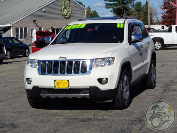 2011 Jeep Grand Cherokee Limited at First City Cars and Trucks in Gonic, NH.