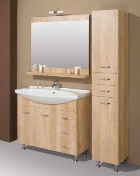 Libato 60 komplett bútor - minimal fürdőszobabútor, modern fürdőszoba bútor