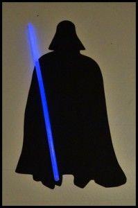 Star Wars Einladung Darth Vader
