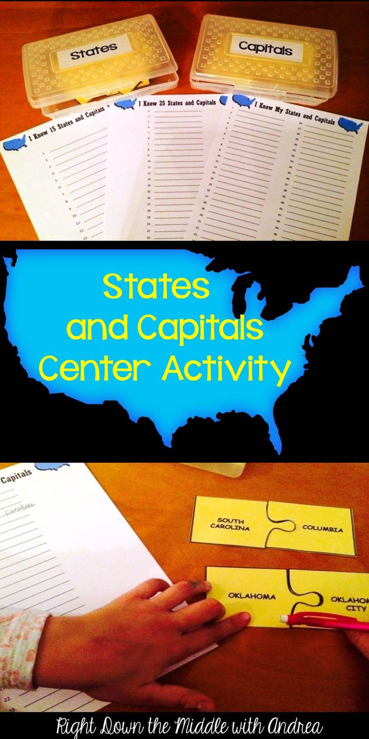 Usa Map States And Capitals Quiz%0A States and Capitals MatchUp