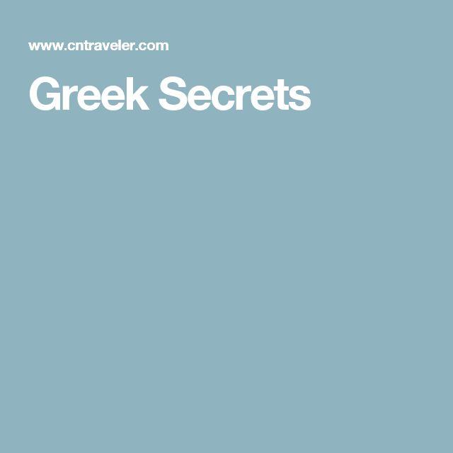 Greek Secrets