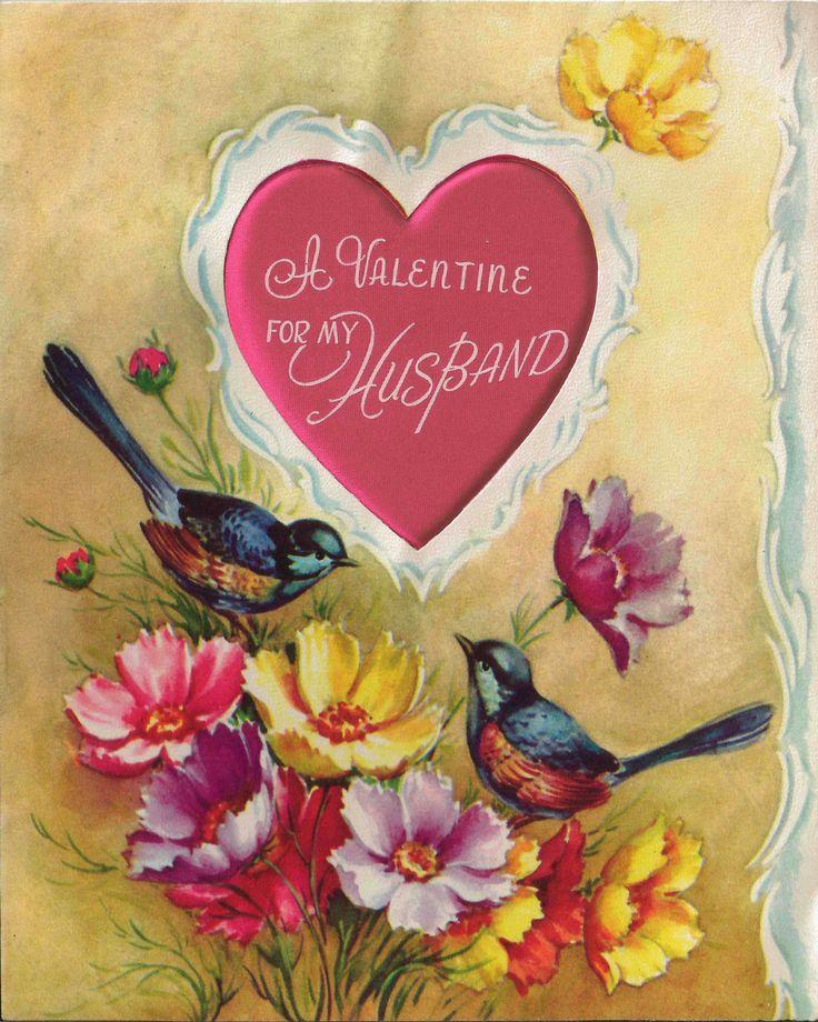 26 best Vintage Valentine\'s Day Cards images on Pinterest | Post ...