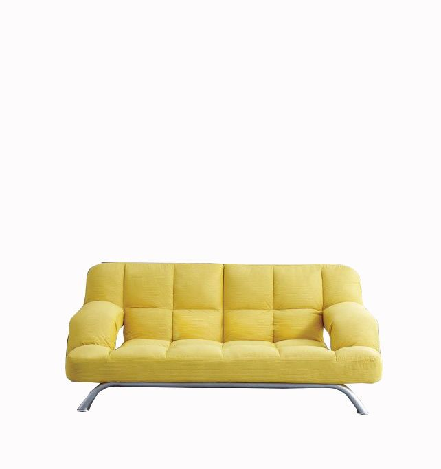 Modern Style Sofa Yellow Color Sofa Size W2000 D950 H850 Bed