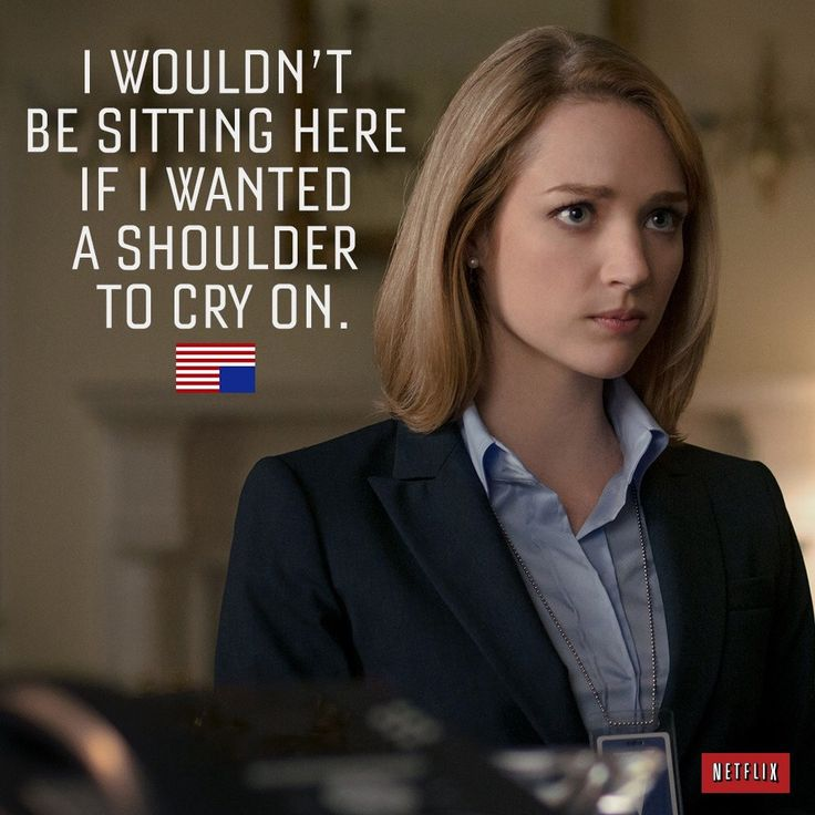 House of Cards - Christina | House of cards seasons, House ...
