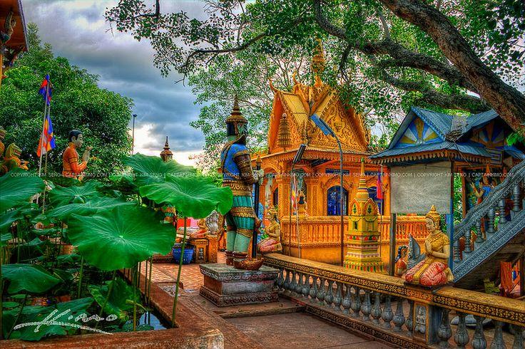 Buddist-Temple-at-Wat-Phnom-Yaht-Pailin-Cambodia