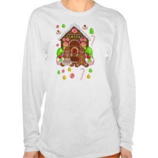 Gingerbread Crazy TShirt - Fun Christmas T Shirt