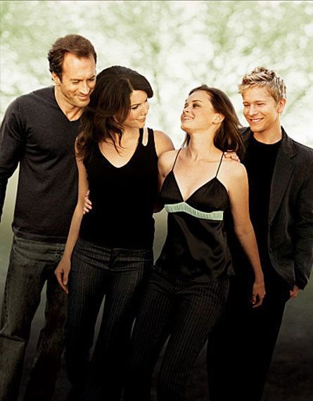 Gilmore Girls....I watch it over and over again and never get sick of it.