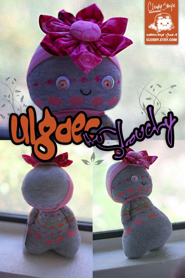 Ulgaec Jardim Slouchy por cleody on deviantART Sock