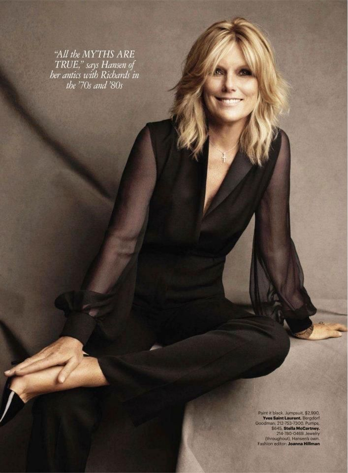 Harper's Bazaar - Patti Hansen on Keith, Drugs & Rock 'N' Roll