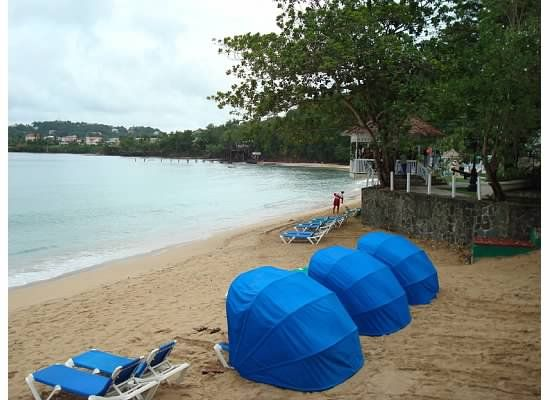 Shaded Beach Chairs Are Available Perfect Honeymoon Spot Sandals Latoc St Lucia Pinterest Spots And Sunset