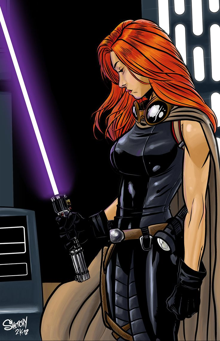 Mara Jade by SketchyMcDrawpants on DeviantArt