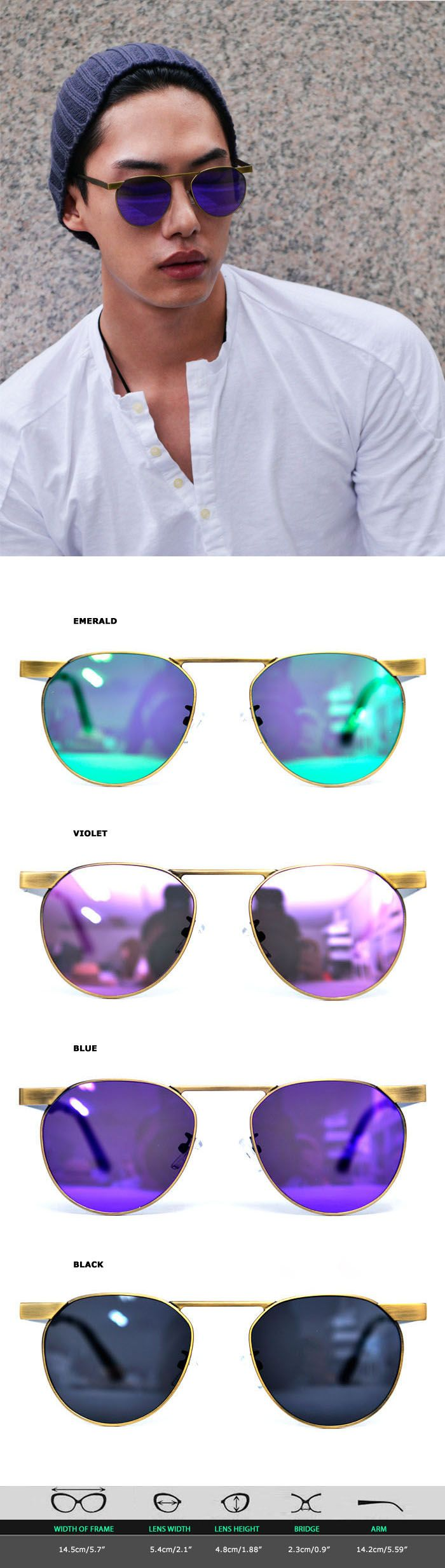 Retro Brass Frame Tint Teardrop-Sunglasses 97  by Guylook.com  #guylook #fashion #sunglass #summer #style #instagram #cool #여름 #선글라스 #패션스타일 #스타일 #패션 #패피 #mirror #mirrorsunglass #미러선글라스