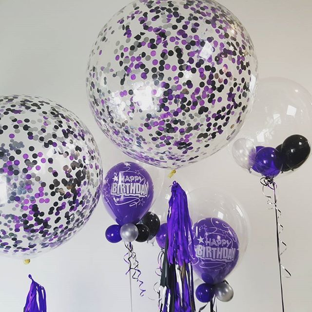 """it's my party and I'll choose purple if I want to..."" #purple  #balloons"