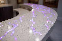 decorative aggregate concrete countertops - Google Search