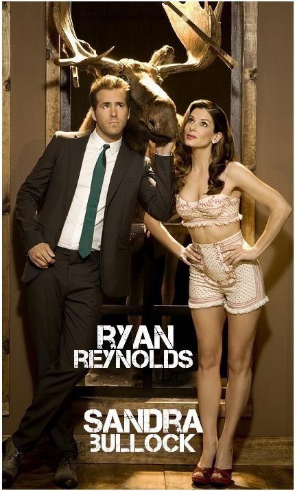 RYAN REYNOLDS & SANDRA BULLOCK  - BFF's