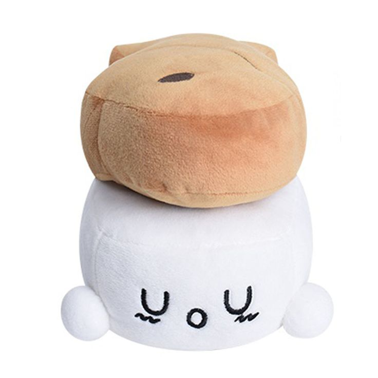 New Cotton Food Choba Season3 Fish Bread Sushi 15cm 6in Plush Doll #CottonFood