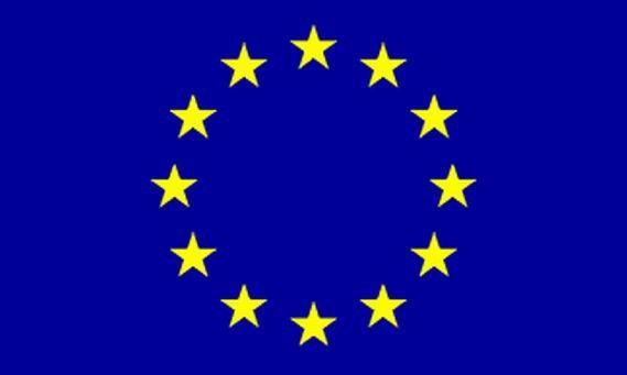 Europa-Flagge / EU-Flagge  (90 x 60 cm)