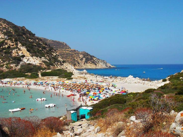 Sardinia , Punta Molentis.<3 I love my beautiful Island <3