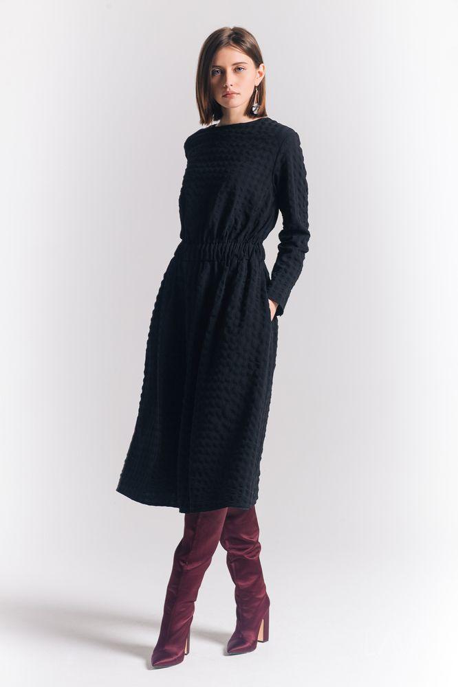 Дизайнерское платье миди