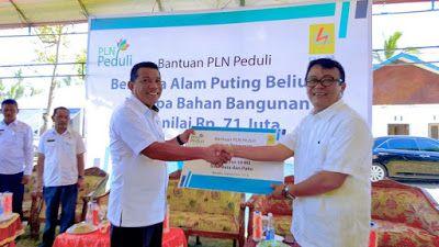 PLN Peduli Salurkan Bantuan Rp 71 Juta untuk Korban Bencana Alam di Bolmong…