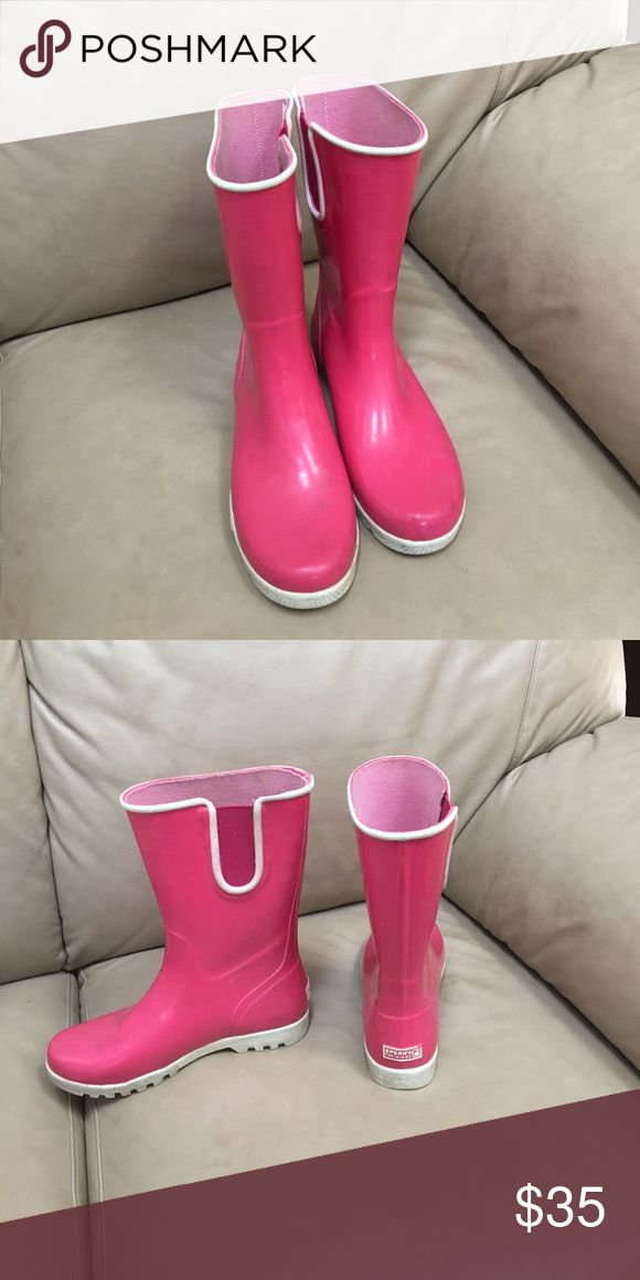 Pink Sperry Rainboots - size 7 Pink Sperry rainboots - used Sperry Top-Sider Shoes Winter & Rain Boots