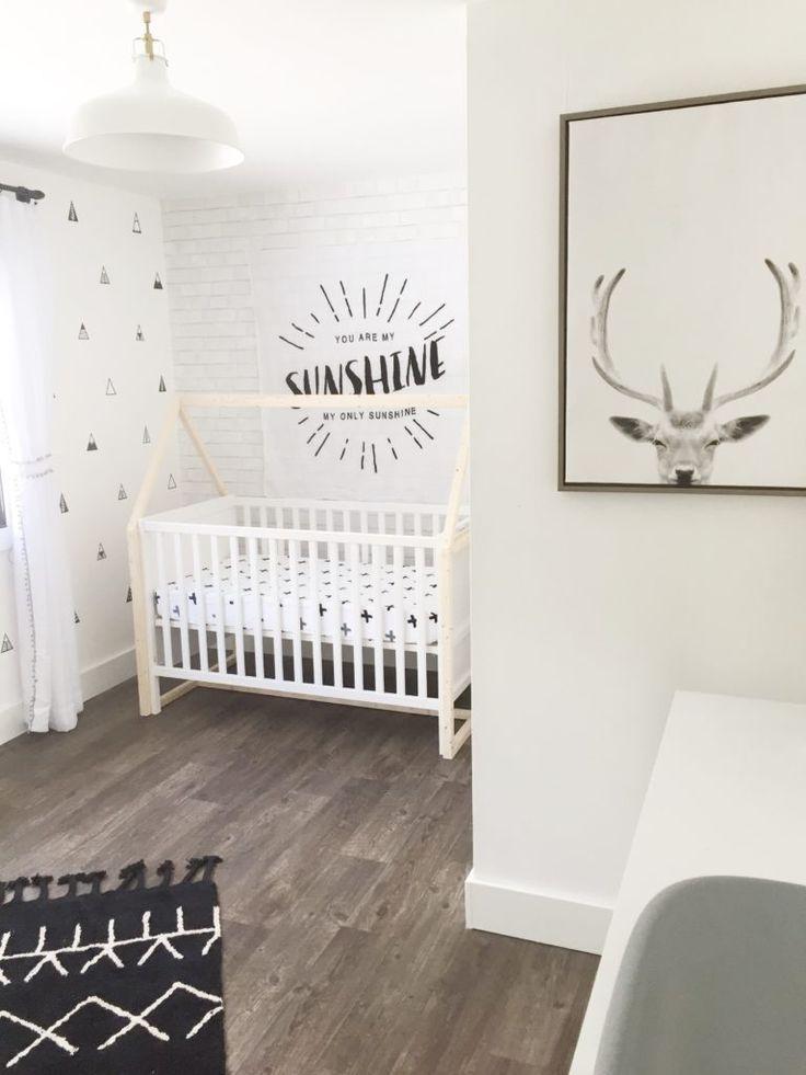 Monochromatic Nordic Boys Nursery Project Nursery Scandinavian Baby Room Baby Boy Rooms Nursery Neutral