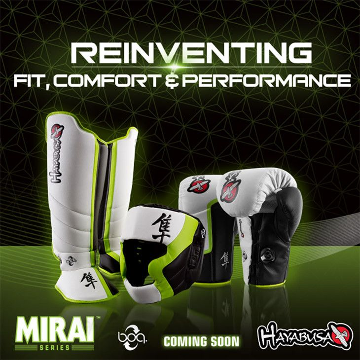 Hayabusa Mirai Series MMA Training Gear Preview at http://www.fighterstyle.com/hayabusa-mirai-series-mma-training-gear-preview/