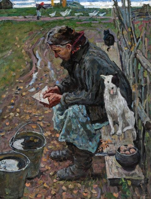 The Autumn of 1941. A Letter from the Front Line Alexey and Sergey Tkachev | The Institute of Russian Realist Art (IRRA)