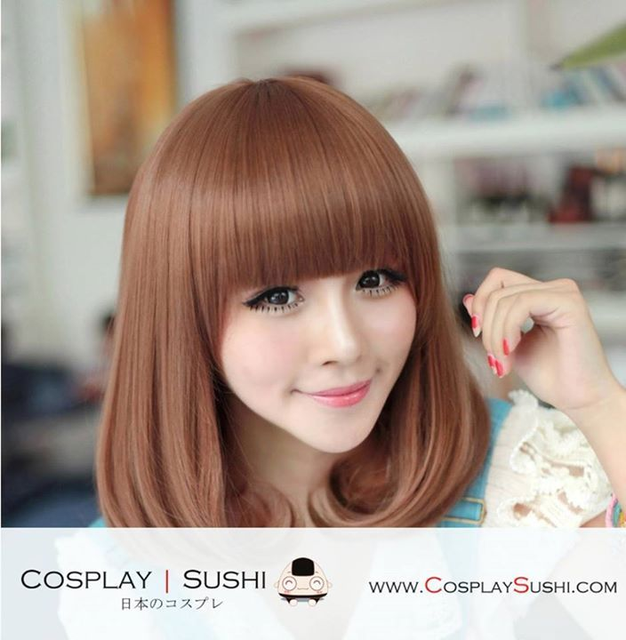 NEW JAE-HWA 5 COLORS MEDIUM HAIR WIGS : )  SHOP NOW: http://bit.ly/1pXQv4N  #colors #mediumhair #wigs #jaehwa #cosplaywig #soju