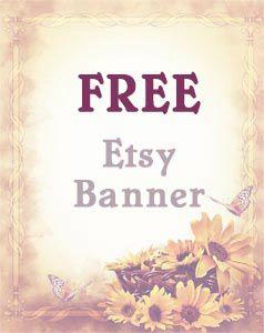 #freeetsybanner #etsybanner #giveaway #freebanner #free