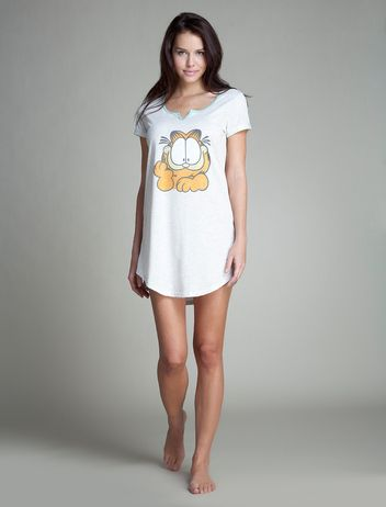 women'secret | Todo T2 | Garfield short cotton nightdress