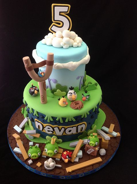 130 best Cakes Angry Birds images on Pinterest Angry birds