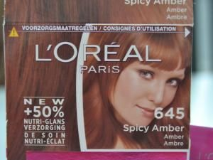 test coloration loral casting crme gloss n645 spicy amber hellocoton - Coloration Cheveux Cappuccino