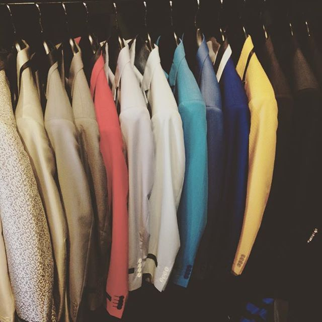 All men's suits and blazers are now 50% OFF whilst stock last  limited sizes and colours #lenakasparian