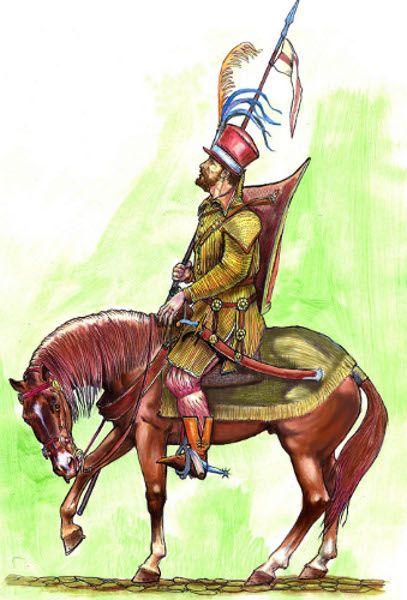 Hussar, first half of XVI century