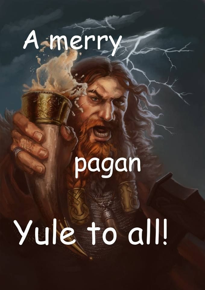 Happy Holidays to my Heathen friends: Yule in the north, Midsummer in the south. | Asatru ...