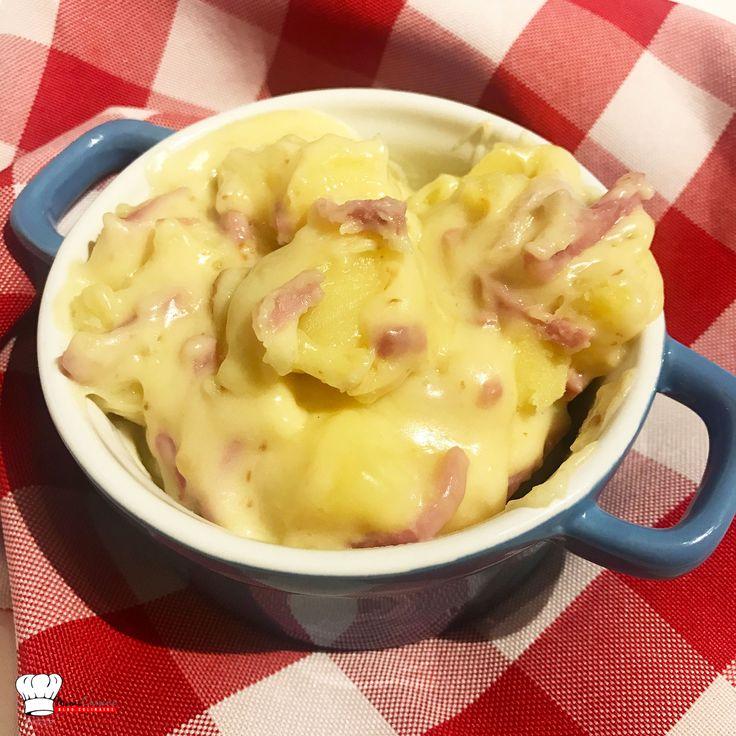 Pommes de terre au fromage à raclette Recette Cookeo